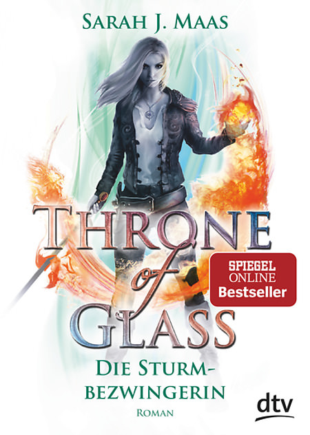 Buch-Cover, Sarah J. Maas: Throne of Glass - Die Sturmbezwingerin
