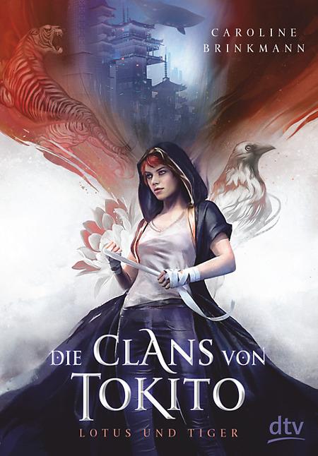 Buch-Cover, Caroline Brinkmann: Die Clans von Tokito - Lotus und Tiger
