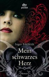 Buch-Cover, Inger Edelfeldt: Mein schwarzes Herz