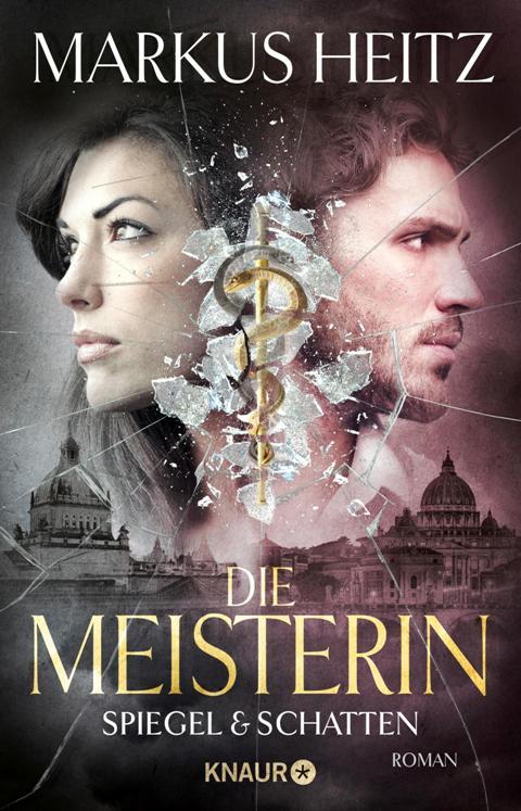 Buch-Cover, Markus Heitz: Die Meisterin: Spiegel und Schatten