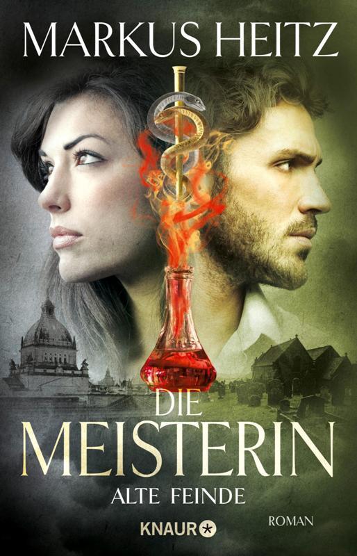 Buch-Cover, Markus Heitz: Die Meisterin: Alte Feinde