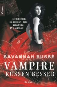 Buch-Cover, Savannah Russe: Vampire küssen besser