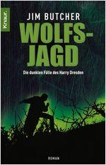Buch-Cover, Jim Butcher: Wolfsjagd