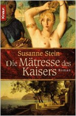Buch-Cover, Susanne Stein: Die Mätresse des Kaisers