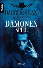 Buch-Cover, Darren Shan: Dämonenspiel