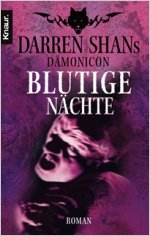 Buch-Cover, Darren Shan: Blutige Nächte