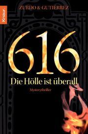 Buch-Cover, Ángel Gutiérrez: 616 - Die Hölle ist überall