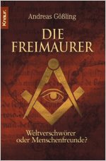 Buch-Cover, Andreas Gößling: Die Freimaurer