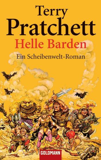 Buch-Cover, Terry Pratchett: Helle Barden