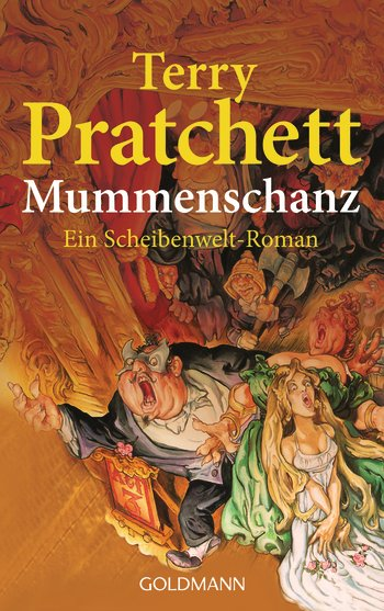 Buch-Cover, Terry Pratchett: Mummenschanz