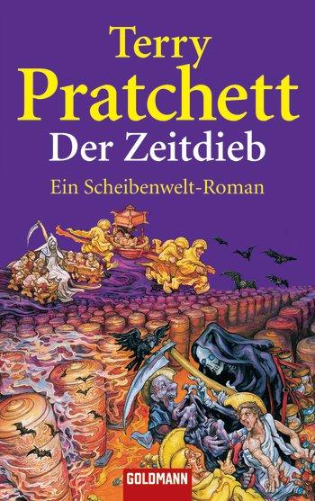 Buch-Cover, Terry Pratchett: Der Zeitdieb