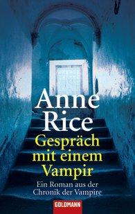 Buch-Cover, Anne Rice: Gespräch mit einem Vampir