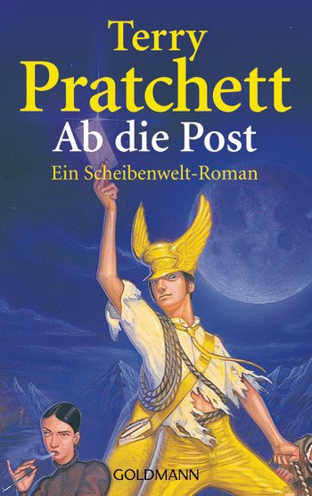 Buch-Cover, Terry Pratchett: Ab die Post