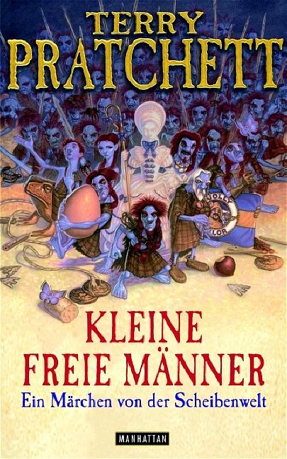 Buch-Cover, Terry Pratchett: Kleine Freie Männer