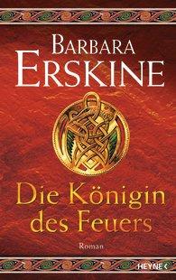 Buch-Cover, Barbara Erskine: Die Königin des Feuers