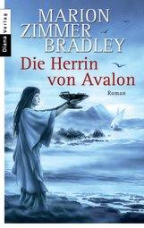 Buch-Cover, Marion Zimmer-Bradley: Die Herrin von Avalon