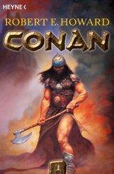 Buch-Cover, Robert Howard: Conan