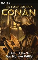 Buch-Cover, Loren Coleman: Das Blut der Wölfe