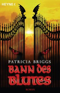 Buch-Cover, Patricia Briggs: Bann des Blutes