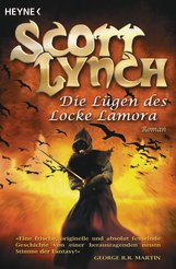 Buch-Cover, Scott Lynch: Die Lügen des Locke Lamora