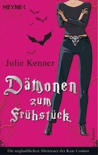Buch-Cover, Julie Kenner: Dämonen zum Frühstück