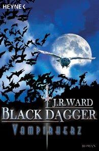 Buch-Cover, J.R. Ward: Vampirherz