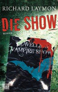 Buch-Cover, Richard Laymon: Die Show