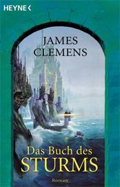 Buch-Cover, James Clemens: Das Buch des Sturms