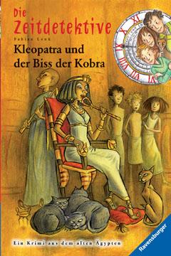 Buch-Cover, Fabian Lenk: Kleopatra und der Biss der Kobra