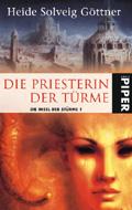 Buch-Cover, Heide S. Göttner: Die Priesterin der Türme