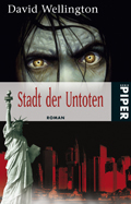 Buch-Cover, David Wellington: Stadt der Untoten