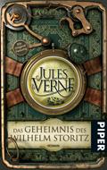 Buch-Cover, Jules Verne: Das Geheimnis des Wilhelm Storitz