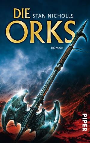 Buch-Cover, Stan Nicholls: Die Orks