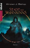Buch-Cover, Kirsten Bishop: Stadt des Wahnsinns