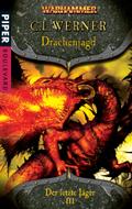 Buch-Cover, C. L. Werner: Drachenjagd