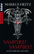 Buch-Cover, Markus Heitz: Vampire! Vampire!: Alles über Blutsauger