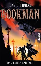 Buch-Cover, Lavie Tidhar: Bookman