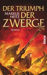 Buch-Cover, Markus Heitz: Der Triumph der Zwerge