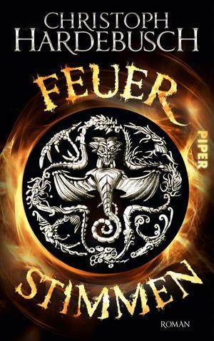 Buch-Cover, Christoph Hardebusch: Feuerstimmen