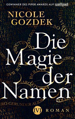 Buch-Cover, Nicole Gozdek: Die Magie der Namen
