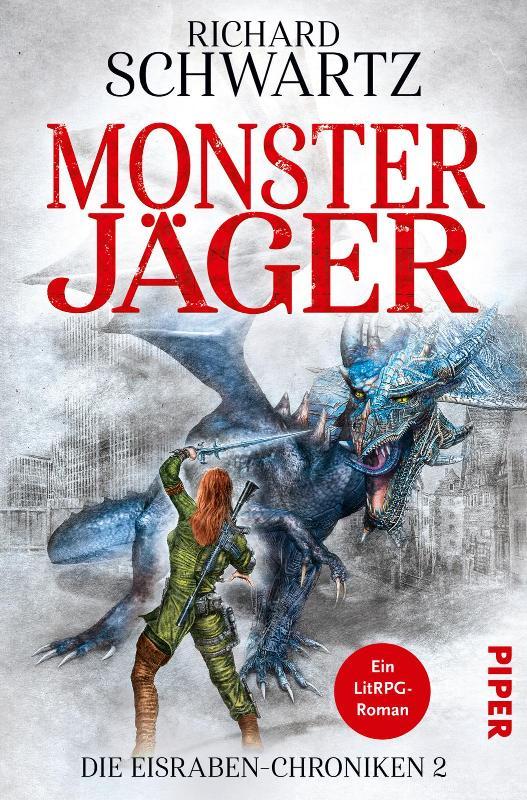Buch-Cover, Richard Schwartz: Monsterjäger