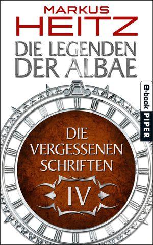 Buch-Cover, Markus Heitz: Die Vergessenen Schriften 4