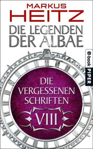 Buch-Cover, Markus Heitz: Die Vergessenen Schriften 8