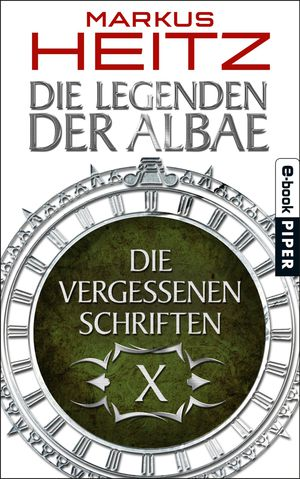 Buch-Cover, Markus Heitz: Die Vergessenen Schriften 10