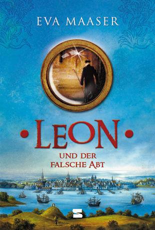 Buch-Cover, Eva Maaser: Leon und der falsche Abt