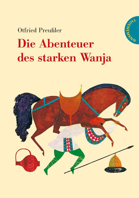 Buch-Cover, Otfried Preußler: Die Abenteuer des starken Wanja