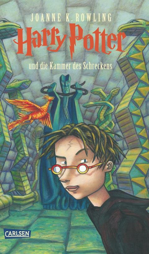 Buch-Cover, Joanne Kathleen Rowling: Harry Potter und die Kammer des Schreckens