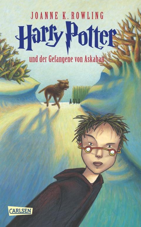 Buch-Cover, Joanne Kathleen Rowling: Harry Potter und der Gefangene von Askaban