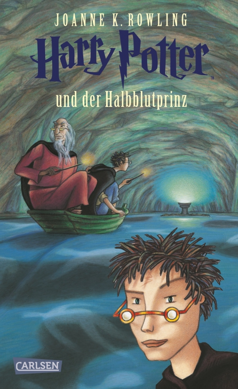 Buch-Cover, Joanne Kathleen Rowling: Harry Potter und der Halbblutprinz