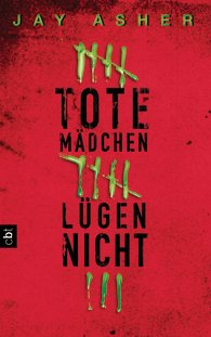 Buch-Cover, Jay Asher: Tote Mädchen lügen nicht